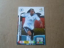 Carte adrenalyn panini - Euro 2012 - Allemagne - Jérôme Boateng