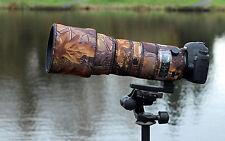 Sigma 150 600mm Sport Protectora Neopreno cubierta de lente Inglés Roble