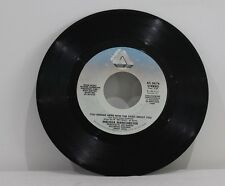 "45 RECORD 7""- MELISSA MANCHESTER - YOU SHOULD HEAR HOW SHE TALKS ABOUT YOU"