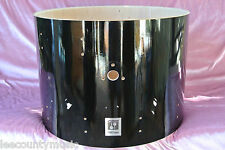 "SONOR FORCE 3001 22"" BLACK LACQUER BASS DRUM SHELL for YOUR SET! LOT #J552"