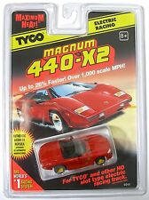 Rare Yellow Emblem! 1997 TYCO Mattel 440-X2 Viper Roadster Slot Car #9249 Carded