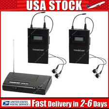 Takstar WPM-200 Wireless Monitor System In-Ear Stereo 1 Transmitter+2 Receivers