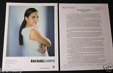 RACHAEL LAMPA 'LIVE FOR YOU' 2000 PRESS KIT--PHOTO