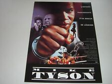 AFFICHE PROMO VIDEO CLUB--MIKE TYSON--ULI EDEL