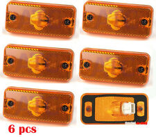 6 x Orange Side Marker Lights Amber Lamps for IVECO DAILY 2000  E4 Marked