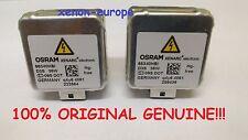 2pcs 2x D3S Osram 66340 Xenon Bulbs Original Genuine Philips 42302 Pair HID
