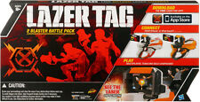 LAZER TAG 2 Blaster Battle TWIN Pack NEW Nerf works with iphone or ipod Laser