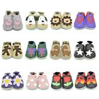 TINY TOTTS SOFT LEATHER BABY SHOES 0-6, 6-12, 12-18, 18-24 MTHS 2-3 & 3-4 YRS