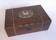 BOITE A COUTURE / BIJOU en BOIS MARQUETERIE NACRE JEWELRY JEWELLERY SEWING BOX