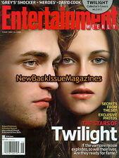 Entertainment Weekly 11/08,Kristen Stewart,Robert Pattinson,November 2008,NEW