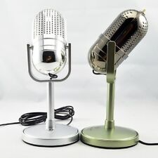 Silver 3.5 mm Desktop Microphone MIC for PC Computer Laptop Mac Desktop karaoke