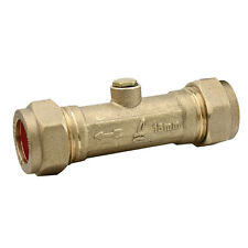 15mm Brass Double Check Valve