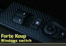 3D Carbon Window Switch Decals Stickers for Kia 11 12 2013 Cerato / Forte - Koup