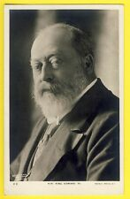 Post Card ROTARY PHOTOGRAPHIC BOISSONNAS et TAPONNIER, PARIS HM KING EDWARD VII