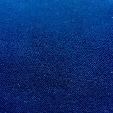 C32 BELLE PLAIN tela cerata di Lusso Misto Cotone Morbido Blu Royal MADE IN ITALY