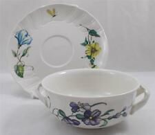 Villeroy & and Boch BOUQUET soup bowl / coupe and saucer