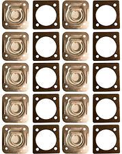10 Recessed D Rings w/ Backing Plates 5000 LBS. Trailer