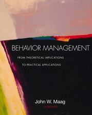Behavior Management: From Theoretical Implications to Practical Applications (w