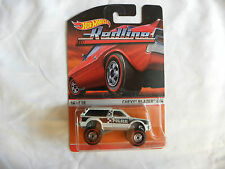 2015 HOT WHEELS HERITAGE REDLINE CHEVY BLAZER 4X4 NIP 14/18
