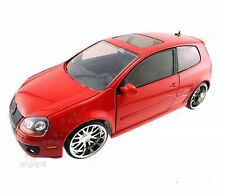JADA 2007 VOLKSWAGEN GOLF MK5 GTI RED 1/24 DIECAST CAR NEW WITHOUT BOX