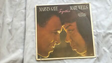 """Marvin Gaye Mary Wells """"Together"""" Sealed Soul R&B Motown Records LP"""