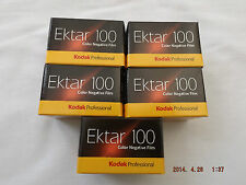 Kodak Ektar 100 35MM 36EXP Color Neg película (5 Pack)