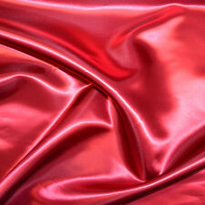 "BRIDAL SATIN FABRIC 58"" WIDE BY THE YARD HOME DECOR & SPECIAL OCCASION"