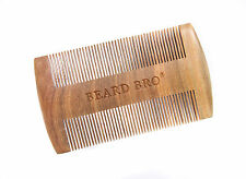 The Beard Bro™ -100% Sandlewood Beard / Moustache Comb (No Static / Static Free)