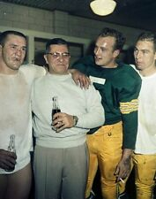VINCE LOMBARDI STARR HORNUNG TAYLOR GREEN BAY PACKERS NFL FOOTBALL 8X10 PHOTO
