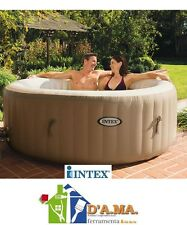 IDROMASSAGGIO PISCINA GONFIABILE INTEX BUBBLE SPA DIAM 191x71H CON ACCESSORI