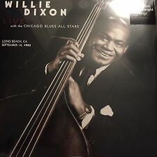 WILLIE DIXON 'LIVE LONG BEACH 1983' NEW PRESSING ON 180G VINYL LP - NEW / SEALED