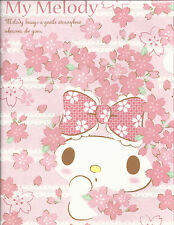 Sanrio My Melody Folder Portfolio Side Open Cherry Blossoms