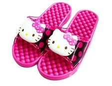 Hello Kitty Pink Bathroom Dot Pattern Slipper Shoes Casual Sandal House Shoes