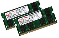 2x 2gb 4gb Apple MacBook Pro imac Mac mini RAM ddr2 667 MHz pc2-5300s csx sodimm