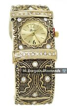 ladies 3 color vintage style party fashion watch cuff steam punk