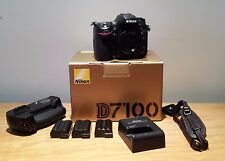 Nikon D7100 w/battery grip and extras