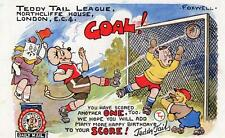 Teddy Tail League Football by Foxwell Daily Mail used 1939