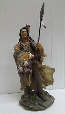 IND26894 VISION QUEST INDIAN NATIVE AMERICAN DWK FOX STATUE FIGURINE DECORATION