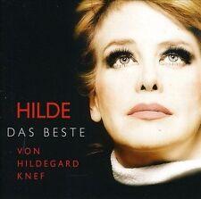 HILDE: Das Beste von Hildegard Knef by Hildegard Knef (CD, Mar-2009, WEA...