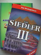 2 Bücher Die Siedler III Das Strategiebuch + Siedler Mission Strategie Lösungen