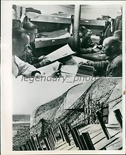 1944 World War II Germany Preparing for 2nd Invasion Original News Service Photo