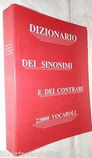 DIZIONARIO DEI SINONIMI E DEI CONTRARI CoEdiN Linguistica Manuale Vocabolario di