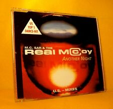 MAXI Single CD M.C. SAR & THE REAL MCCOY Another Night US MIXES 8TR 1994 eurodan
