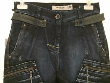 JEAN FEMME NEUF SALSA LIFE 1ST W25 L30 FIT BAGGY WASH DBQKY