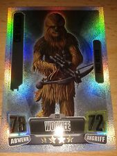 Force Attax Star Wars Serie 2 Nr.235 Chewbacca Force Meister Sammelkarte