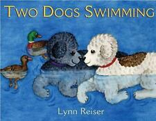 Two Dogs Swimming