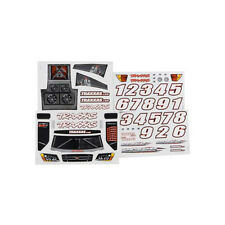 Traxxas Decal Sticker Sheet for Slash 2wd TRA5813