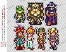 16bit Chrono Trigger Hero Cast Car/Refrigerator Magnets