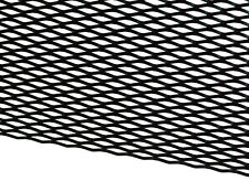 "12"" X 48"" UNIVERSAL BLACK ALUMINUM DIAMOND MESH for your CUSTOM GRILL GRILLE"