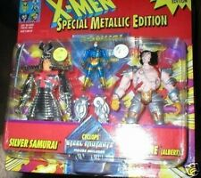 SILVER SAMURAI AND ROBOT WOLVERINE 2 PACK WITH BONUS